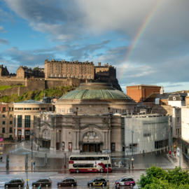 Edinburgh After The Rain