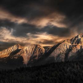 Rock Mountains Alberta