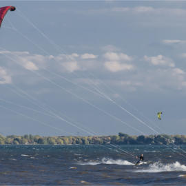 Kite sailing Valois Bay 2100v 3006662