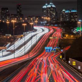 Toronto 401 rush hour 2130v 8038874