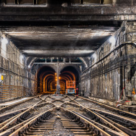 Deep Under the Montreal Central Station