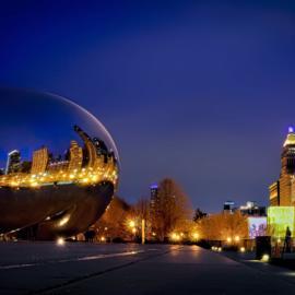 Chicago Urban Night
