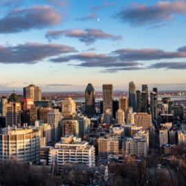 The Sun Sets on Montreal