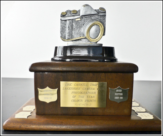 Eric Carnell Colour Print Trophy