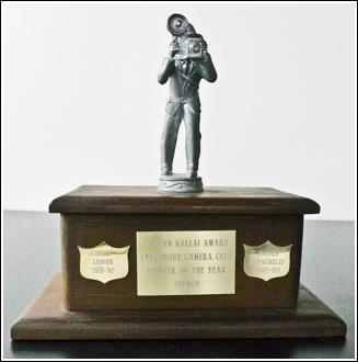 Zoltan Kallai Print Trophy